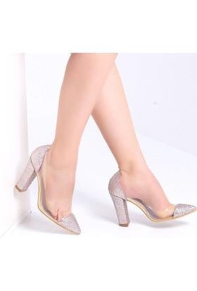 Pembe Potin Jasmin Roz Sim Kadın Ayakkabı