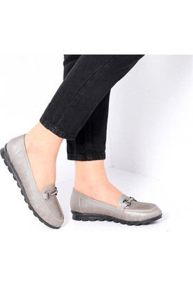 Pembe Potin Elicia Platin Kadın Ayakkabı