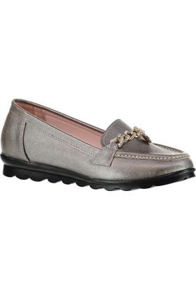 Pembe Potin Felicia Platin Kadın Ayakkabı
