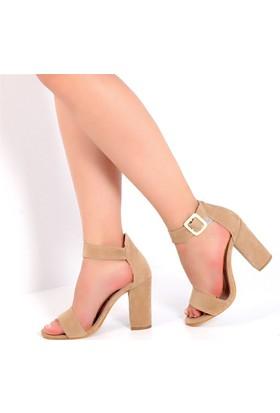Pembe Potin Gisella Ten Nubuk Kadın Ayakkabı