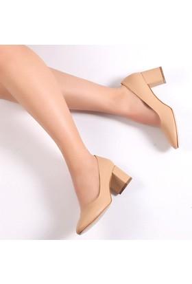 Pembe Potin Frida Ten Kadın Ayakkabı