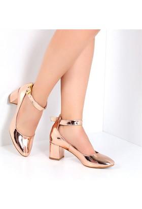 Pembe Potin Candy Roz Rugan Kadın Ayakkabı