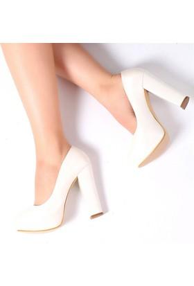Pembe Potin Milano Sedef Kadın Ayakkabı