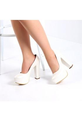 Pembe Potin Paris Sedef Kadın Ayakkabı