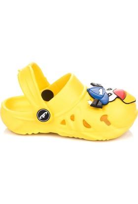 Pembe Potin Birds Sarı Çocuk Terlik