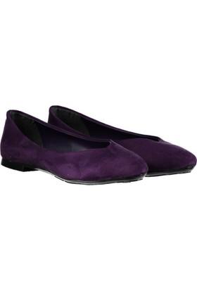 Pembe Potin Miranda Mor Nubuk Kadın Ayakkabı