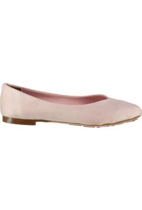 Pembe Potin Miranda Pudra Nubuk Kadın Ayakkabı