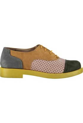 Pembe Potin İrina Hardal Kadın Ayakkabı