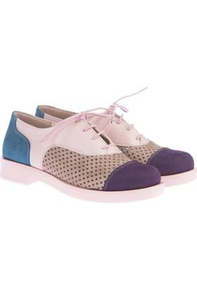 Pembe Potin İrina Pudra Kadın Ayakkabı