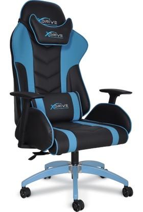 xDrive ATAK Profesyonel Oyun | Oyuncu Koltuğu Mavi/Siyah