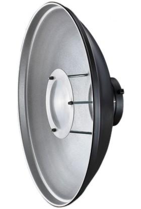 Visico RF550 Beauty Dish Tas Reflektör Siyah Gümüş