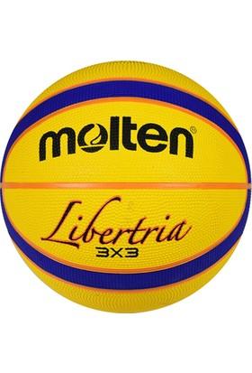 Molten B33T2000 FIBA Onaylı Kauçuk 7 No Streetball Topu