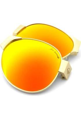 Baendit Red Baron Altın Çerçeve Altın Lens