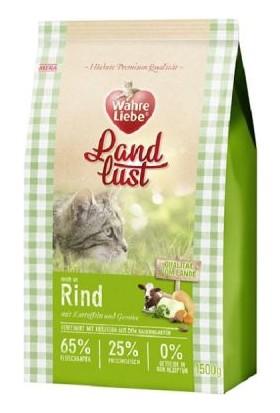 Wahre Liebe Tahılsız Sığır Etli Kedi Maması 1,5 Kg
