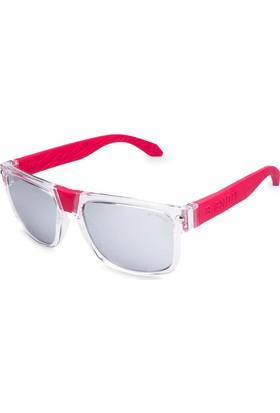 Baendit Ned Kelly Unisex Saydam Çerçeve Beyaz Ayna Lens Kırmızı Kulaklık Modülleri