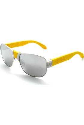 Baendit Al Capone Unisex Gümüş Çerçeve Beyaz Ayna Lens Sarı Kulaklık Modülleri
