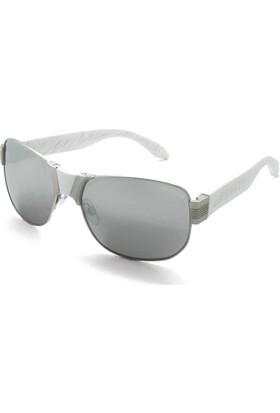 Baendit Al Capone Unisex Gümüş Çerçeve Beyaz Ayna Lens Beyaz Kulaklık Modülleri