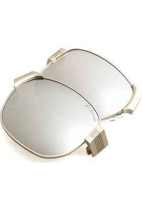 Baendit Al Capone Unisex Gümüş Çerçeve Beyaz Ayna Lens Mor (Beyaz Logo) Kulaklık Modüleri
