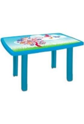 Holiday Plastik Mavi 70*100 Çocuk Masası Cm-320