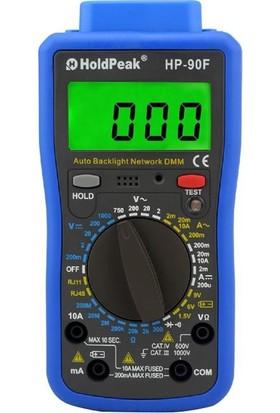 HoldPeak 90F Multimetre Kablo Test Cihazı