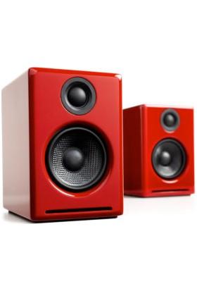 AudioEngine A2+ Aktif Hoparlör (Kırmızı)