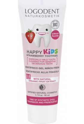 Logona Çocuklar İçin Çilek Özlü Diş Macunu