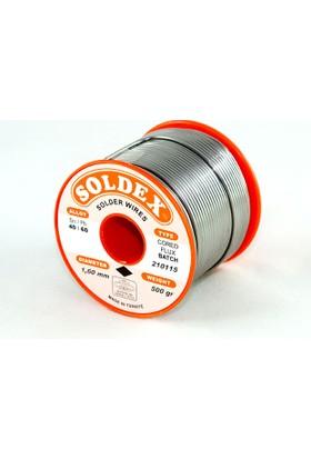 Soldex 40-60 Lehim Teli 200 Gr 1.6 mm