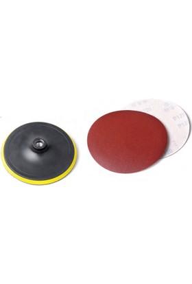 Eltos Cırtlı Disk Altı 115mm - Yedek Zımparalı