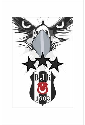 Gönder Bayrak - 3 Yıldız BJK Beşiktaş Bayrağı