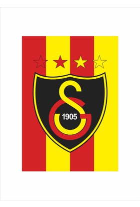 Gönder Bayrak - 4 Yıldız GS - Galatasaray Bayrağı
