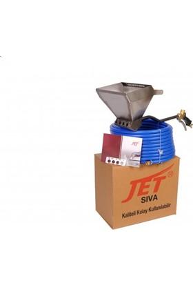 Jet Sıva Tavan Tipi Sıva,Alçı Püskürtme Makinesi - Tam Set
