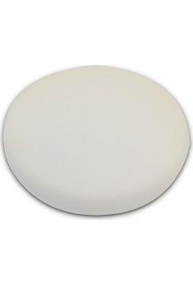 Lake Country White Flat Polishing Foam Velcro 130 mm LC1399