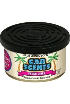 California Car Scents Fresh Linen CCS044
