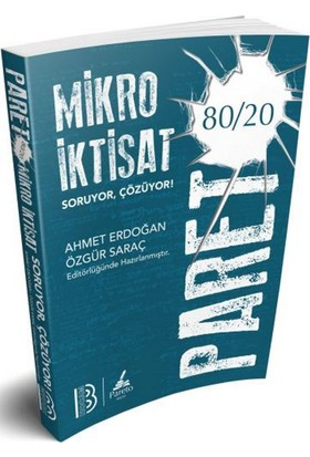 Benim Hocam Yayınları 2018 Kpss A Pareto Mikro İktisat Soru Bankası - Ahmet Erdoğan