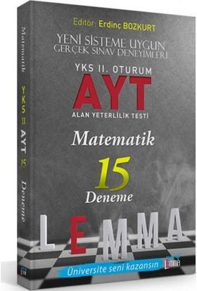 Yargı Lemma Yayınları YKS 2. Oturum AYT Matematik 15 Deneme - Ada Taşkıran