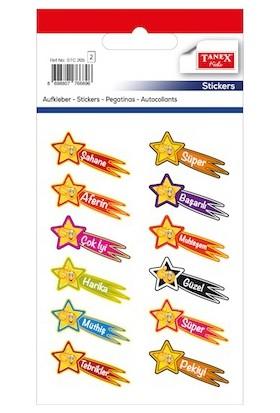 Tanex Türkçe Aferin Çocuk Stickeri 24 lü STC 205