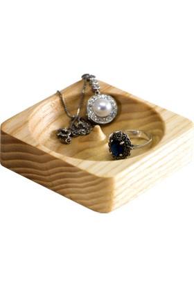 Zuula Küpe Kutusu Mücevher Takı Kutusu Dişbudak