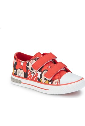 Mickey Mouse Swıss-1 Kırmızı Kız Çocuk Sneaker