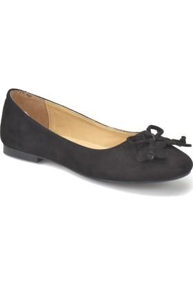 Miss F Ds18012 Siyah Kadın Babet