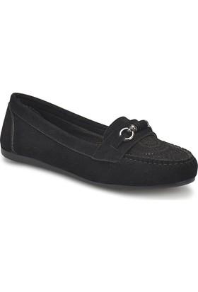 Miss F Ds18017 Siyah Kadın Loafer