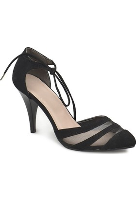 Miss F Ds18042 Siyah Kadın Basic Dress