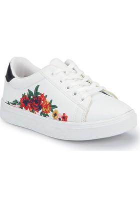 Pink Step Arıen Beyaz Kız Çocuk Ayakkabı