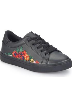 Pink Step Arıen Siyah Kız Çocuk Ayakkabı