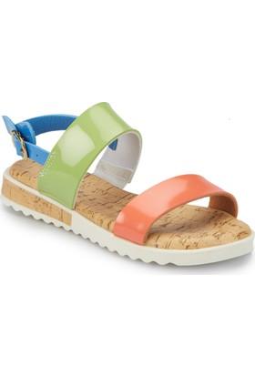 Pink Step Merın Mavi Kız Çocuk Sandalet