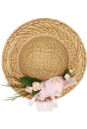 Sepet Diyarı Romantik Dekoratif Şapka