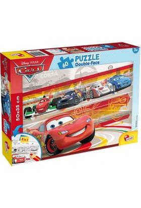 Furkan Disney Cars 60 Parça Boyama Kalem Hediyeli Puzzle