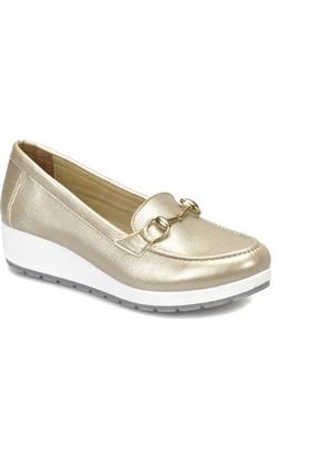 Polaris 81.157242.Z Altın Kadın Basic Comfort Ayakkabı