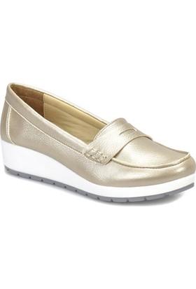 Polaris 81.157243.Z Altın Kadın Ayakkabı