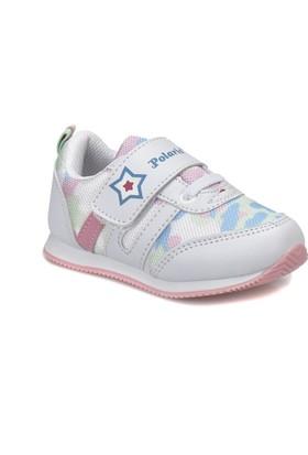 Polaris 81.508016.B Beyaz Kız Çocuk Sneaker Ayakkabı