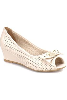 Polaris 81.311144.Z Bej Kadın Ayakkabı